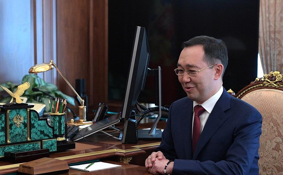 Айсен Николаев прокомментировал свое назначение
