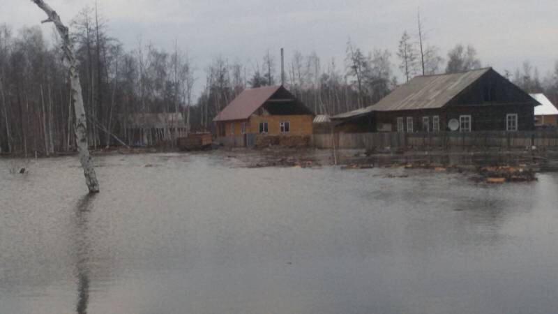 В 2-х поселках вЯкутии подтопило неменее 500 домов