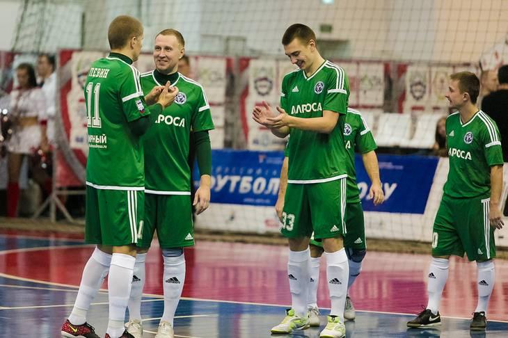 «Алмаз» победил в первом матче малого финала чемпионата страны