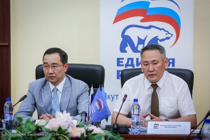 Айсен Николаев поставил цель перед якутскими единороссами