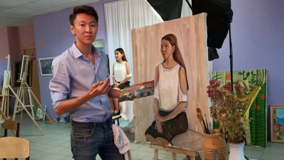 В Якутске открывается летняя школа живописи художника Семена Луканси
