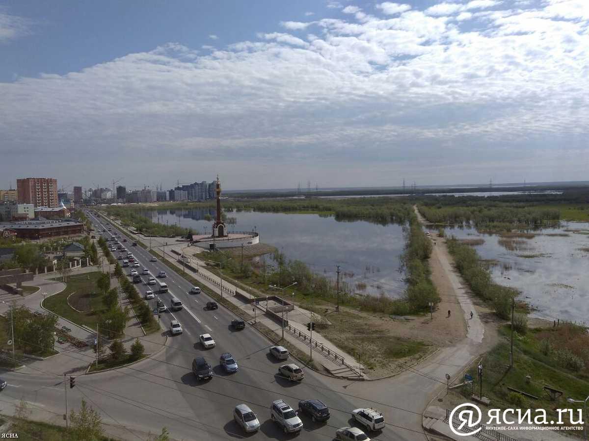 У Якутска ожидается вторая волна паводка