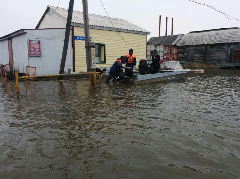 В селе Колымское в ближайшие дни снова может повыситься уровень воды