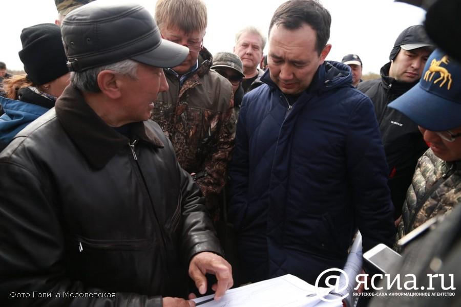 Айсен Николаев: Нужно быстро начать восстановительные работы в Зырянке