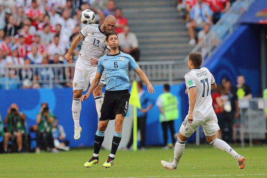Сборная России потерпела поражение от Уругвая