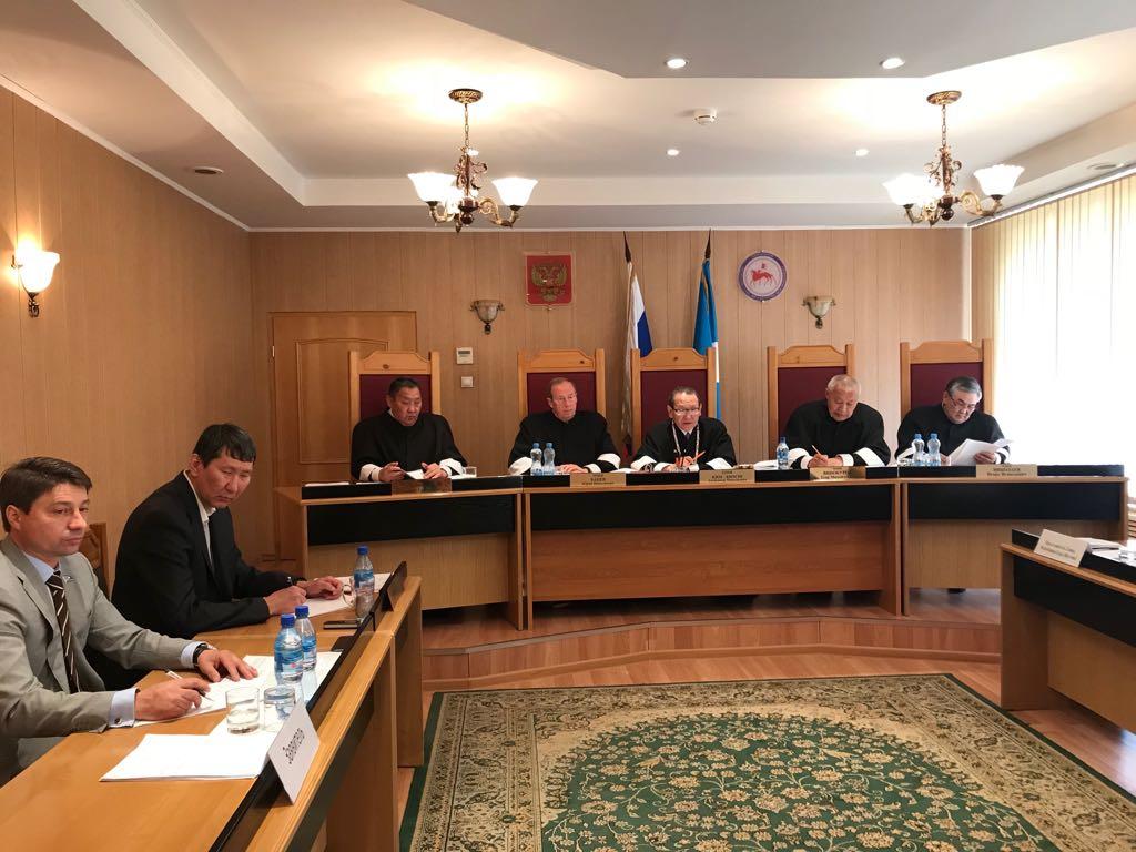В Конституционном суде Якутии рассмотрели запрос депутата Владимира Федорова