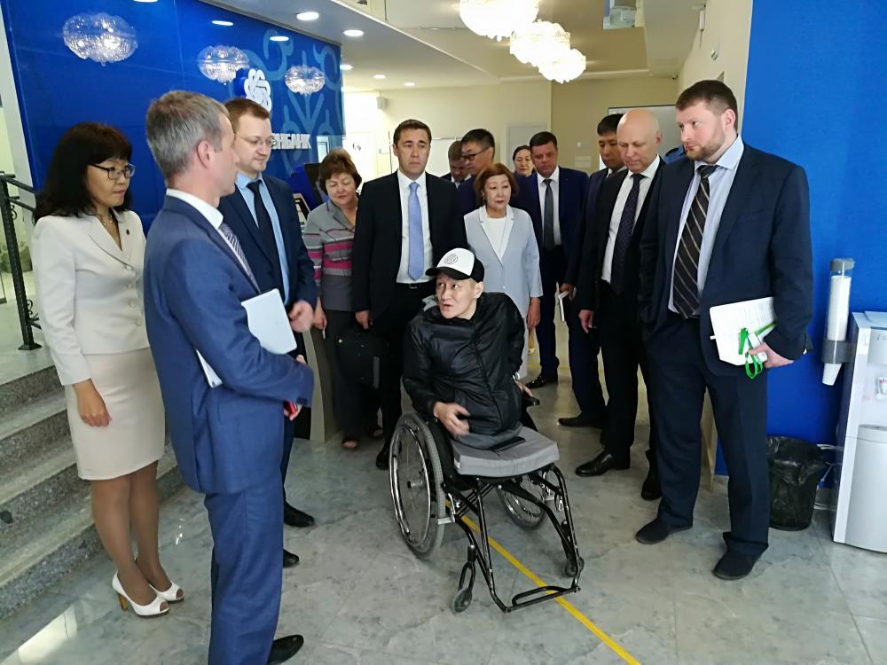 Алмазэргиэнбанк создает безбарьерную среду для людей с инвалидностью