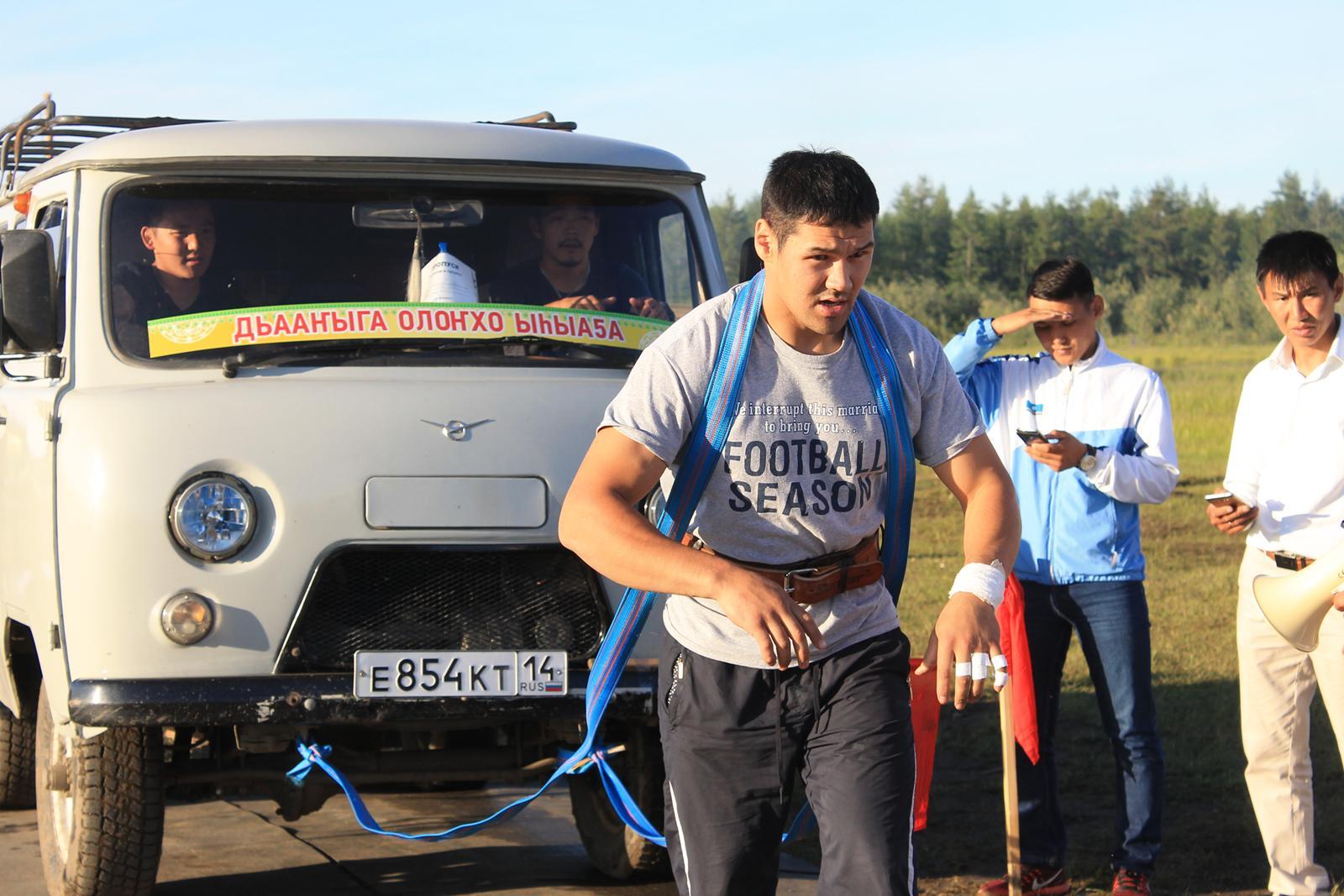 Победителям силового многоборья Ысыаха Олонхо вручат мотоциклы