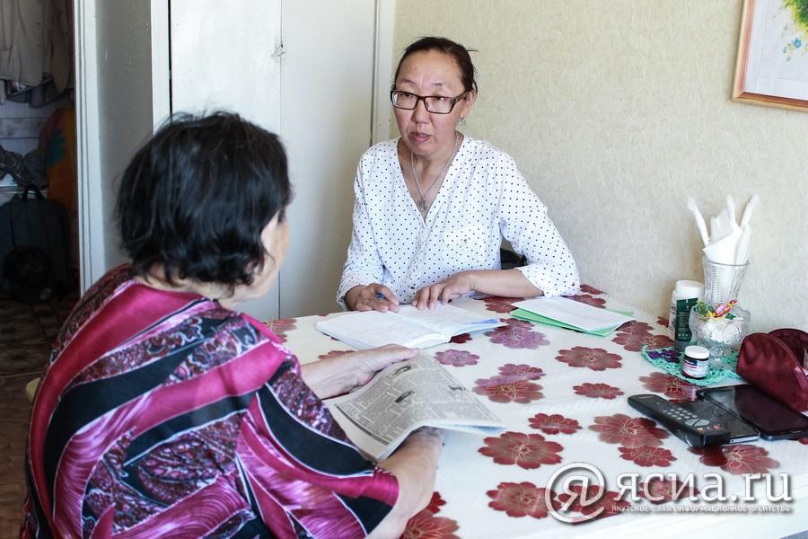 """""""Наши люди"""": Социальный работник Жанна Мандарова"""