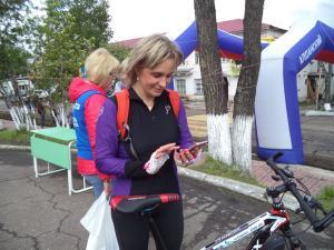 В Алдане День России отметили велопробегом