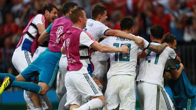 Впервые в истории Россия в 1/4 финала Чемпионата мира по футболу