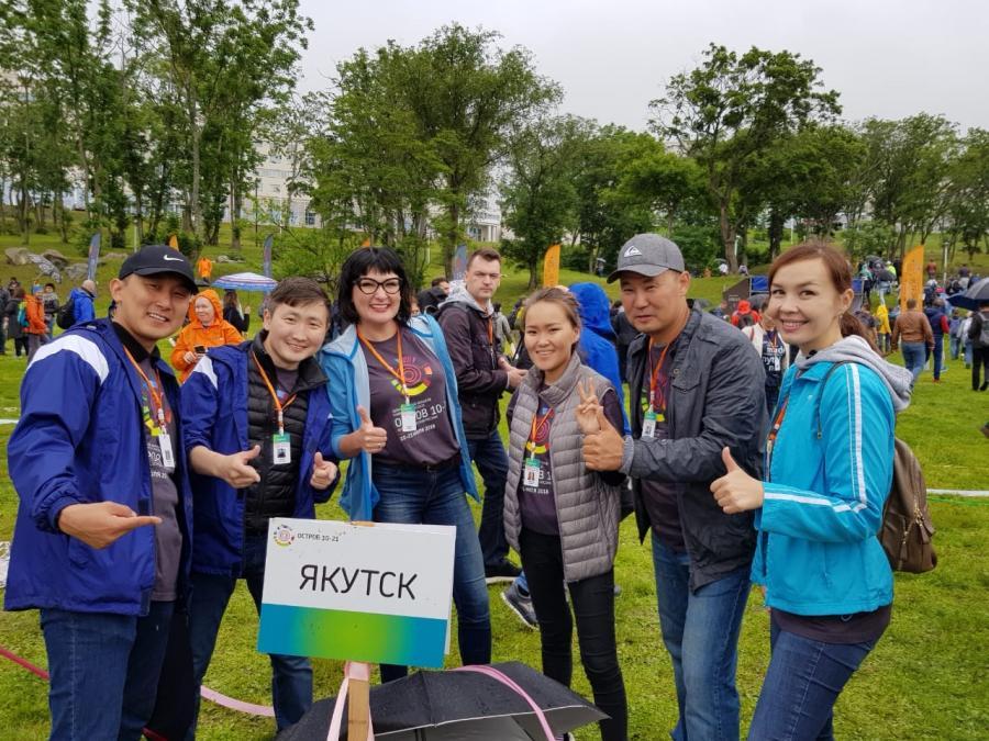 Якутяне принимают участие в проекте «Остров 10.21»