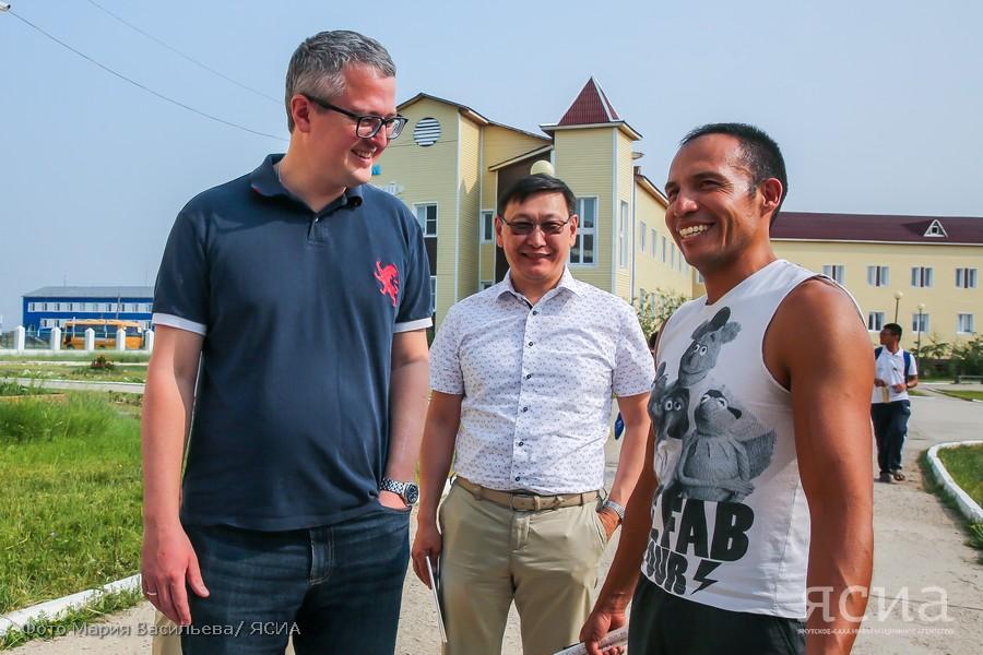 Владимир Солодов посетил исследовательскую школу в Чапаево