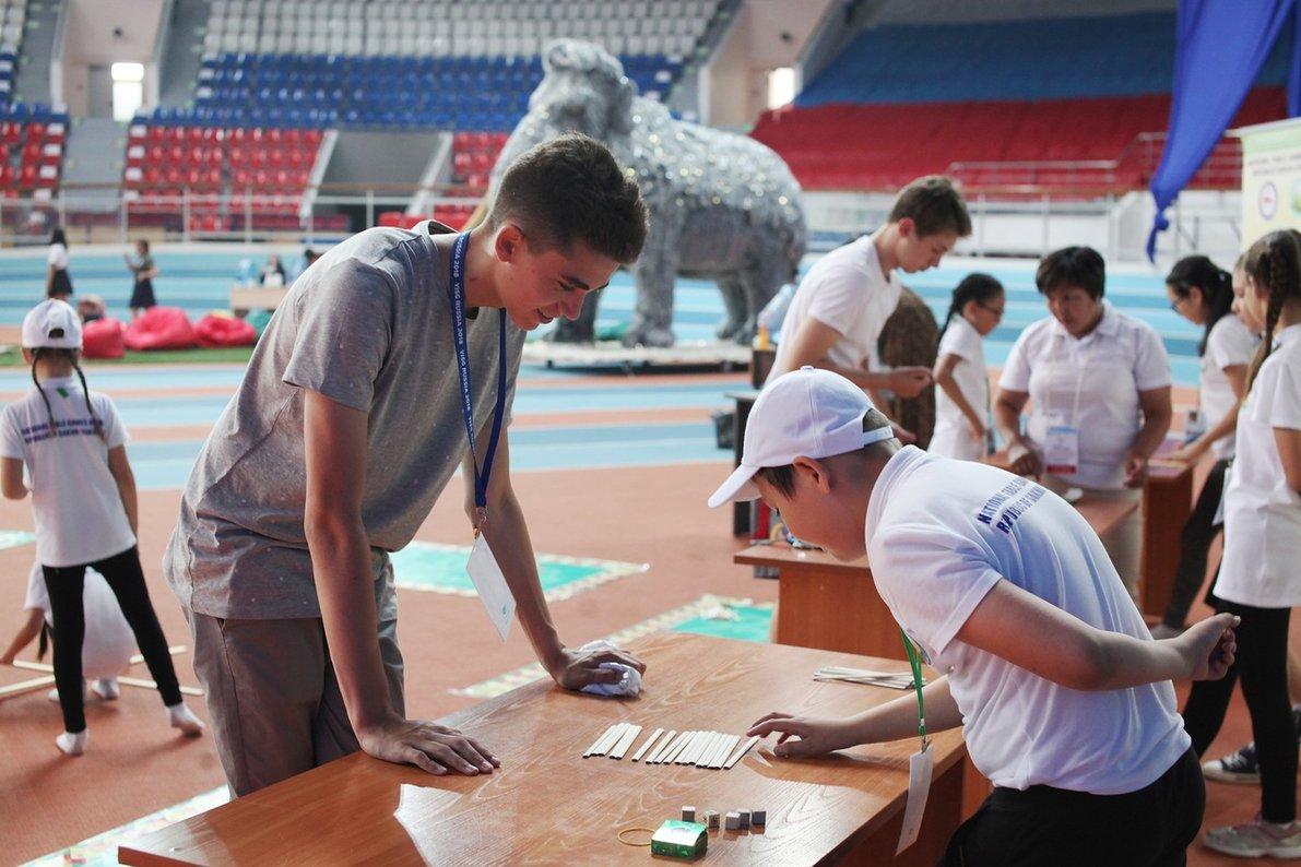 Иностранцы заинтересовались якутскими национальными играми