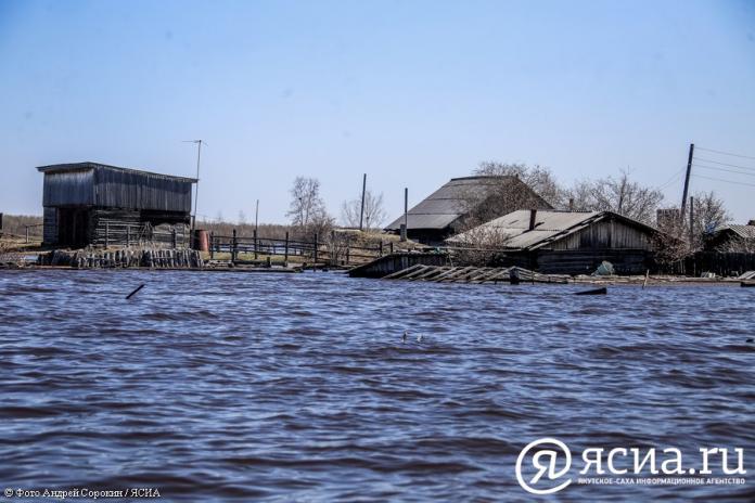 В Октемцах начали переселение жителей подтопляемых домов