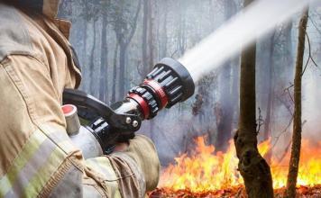 Лесные пожары действуют на территории 16 районов Якутии