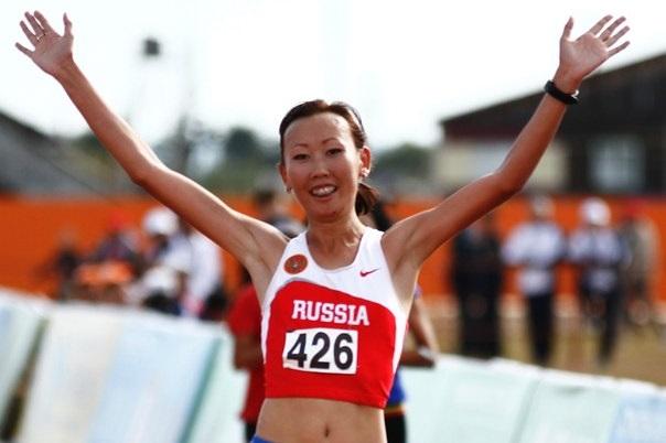 Наталья Леонтьева стала бронзовым призером чемпионата России по полумарафону