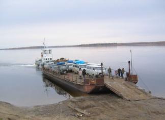 """На паромной переправе """"Якутск-Нижний Бестях"""" введут временное ограничение для грузовых машин"""