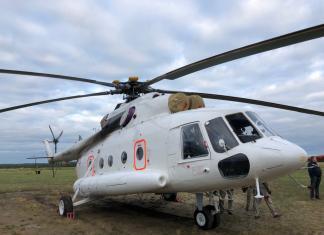 В Якутию поступил третий вертолёт для санитарной авиации