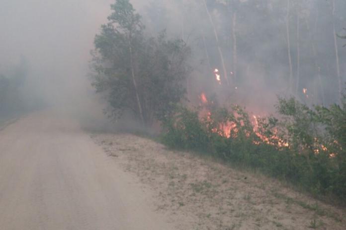 В Якутии ликвидированы два пожара в Горном и Намском районах