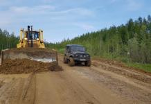 К концу августа все дороги Якутии, пострадавшие от паводка, будут восстановлены