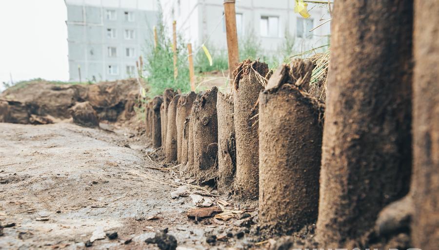 археологические раскопки на Бульваре учителя