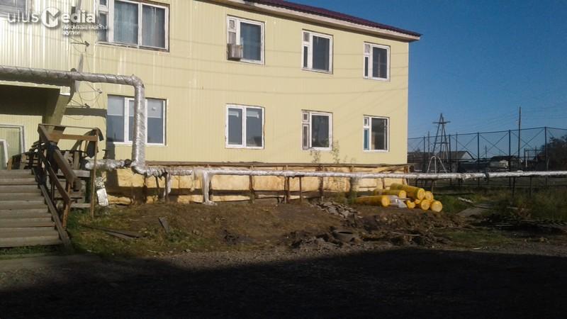 Аварийно-восстановительные работы в домах верхнеколымчан подходят к концу