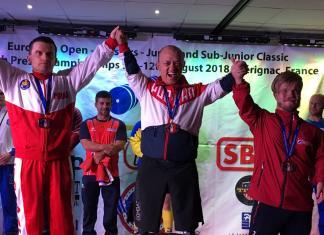 Владимир Балынец стал абсолютным чемпионом Европы по пауэрлифтингу