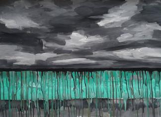 Художник Семен Луканси посвятил серию картин загрязнению реки Вилюй