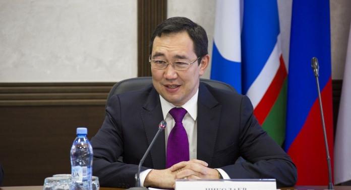 Айсен Николаев принимает участие в президентской комиссии по ТЭК