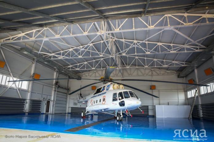 В Якутске презентовали пять санитарных вертолетов и новый ангар