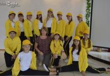 Алданские чирлидеры участвуют в международных соревнованиях в Беларуси