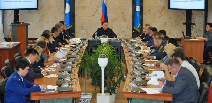 Руководитель администрации АГиП Фёдор Борисов посетил с рабочим визитом Мирнинский район