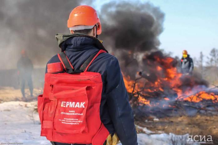 На 6 августа в республике действуют два лесных пожара