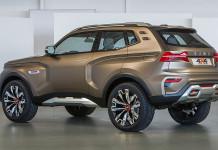 «АвтоВАЗ» представил концептуальный внедорожник 4х4 Vision