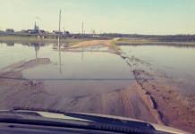 В Усть-Алданском улусе подтопило участок автодорогиМайя - Борогон