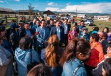 Айсен Николаев встретился с жителями села Оймякон, пострадавшими от наводнения