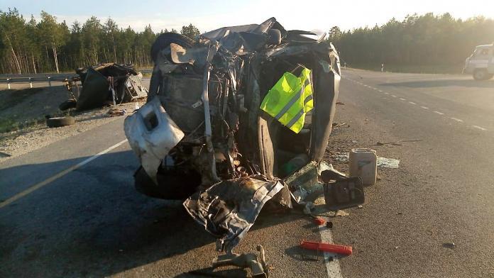10 человек пострадали в двух ДТП в Мегино-Кангаласском улусе