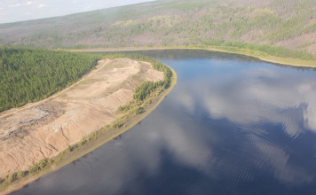 Концентрация взвешенных веществ в реке Вилюй существенно снизилась