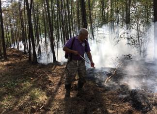 В Якутии введен особый противопожарный режим в пяти районах и столице