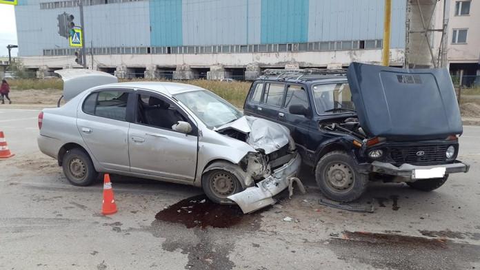 В Якутске в ДТП пострадали шесть человек