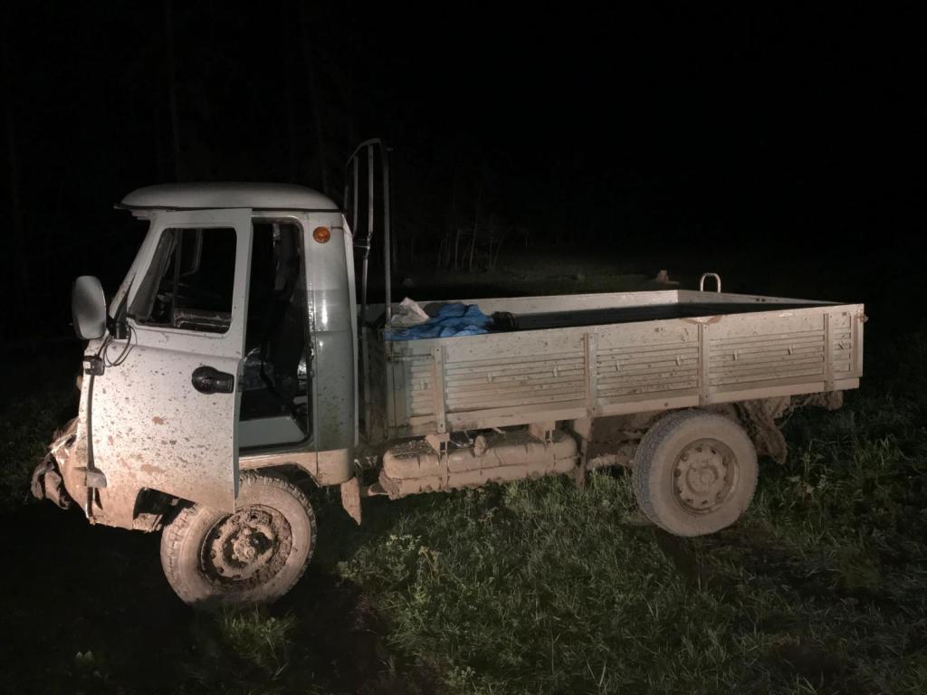 В Якутии водитель сбил корову и пострадал сам