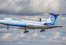 Легендарный Ту-154 «Ижма» завершил свою карьеру