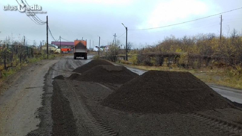 До конца октября в Среднеколымске завершат послепаводковые восстановительные работы