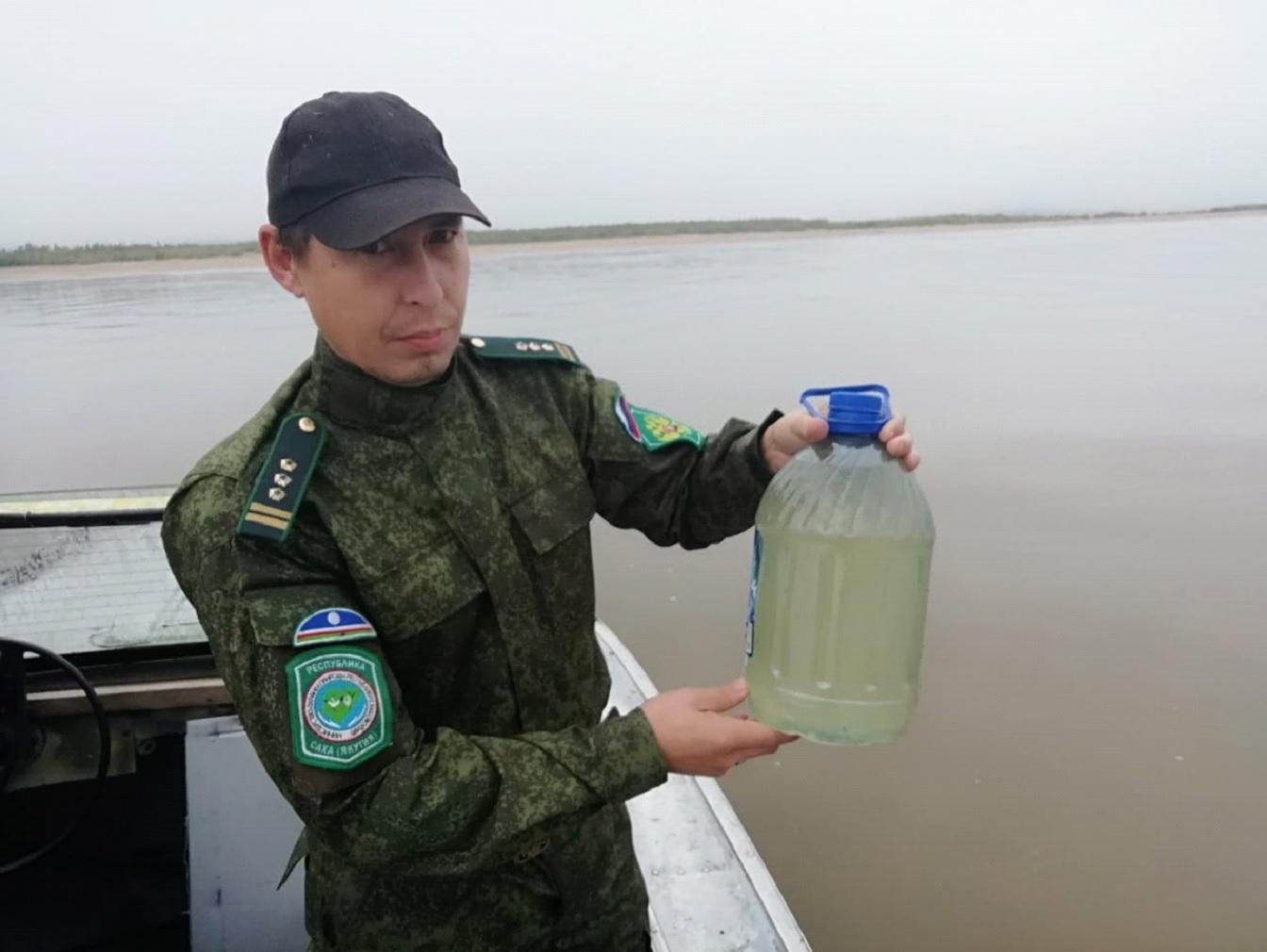 В Сунтаре фиксируется снижение мутности воды в реке Вилюй
