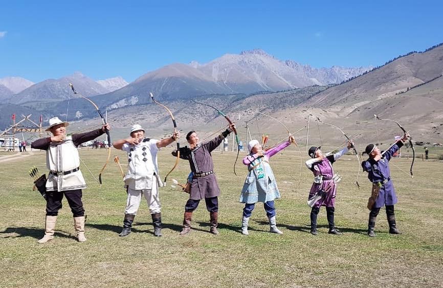 Якутские лучники завоевали «бронзу» на Играх кочевников в Киргизии