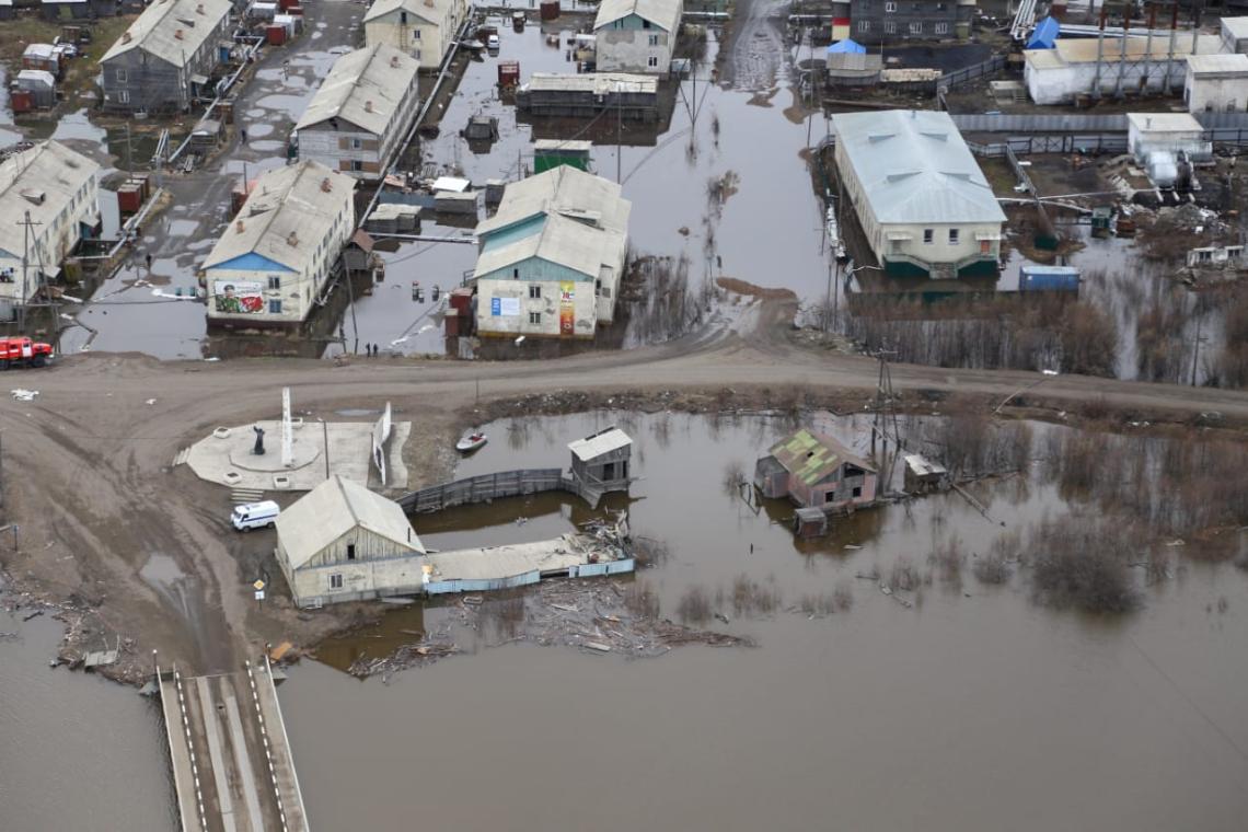 Работы по ликвидации последствий паводка в Якутии подходят к завершающей стадии