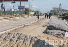 В Якутске продолжается капитальный ремонт Хатынг-Юряхского шоссе