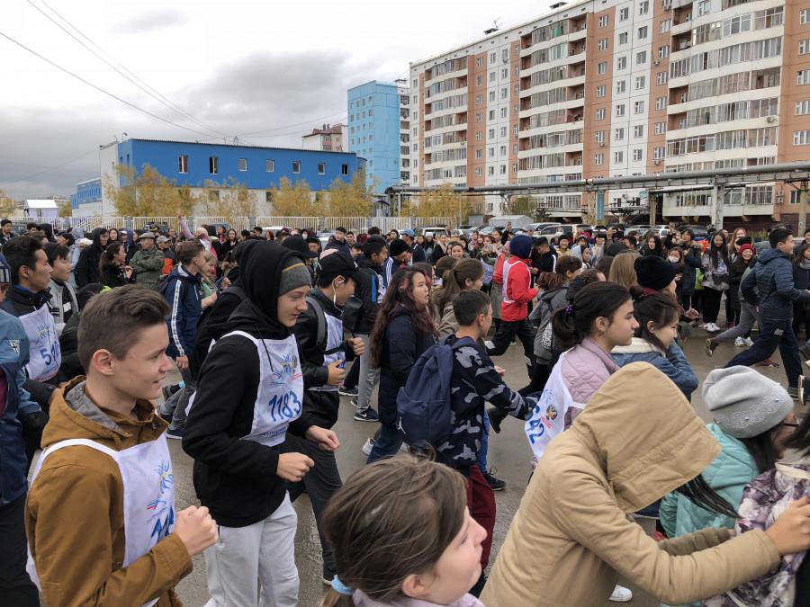 """В Якутске пятеро детей пострадали во время """"Кросса нации"""""""