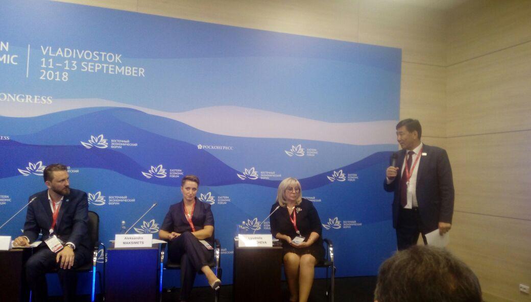 Министр культуры Якутии Владимир Тихонов выступил на культурной сессии ВЭФ
